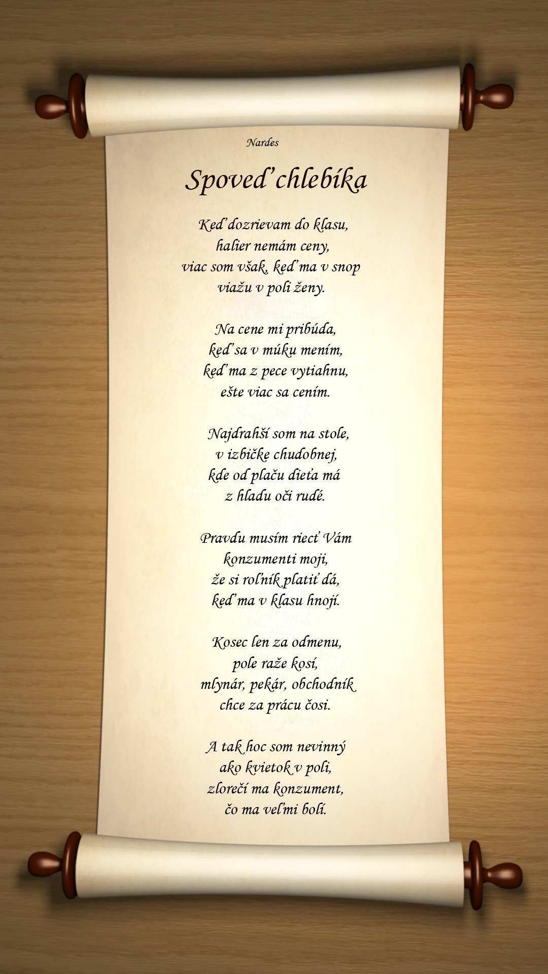 spoved chlebika - Vilija
