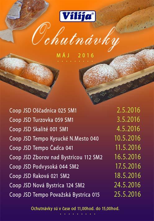 Ochutnávky - Vilija 2016