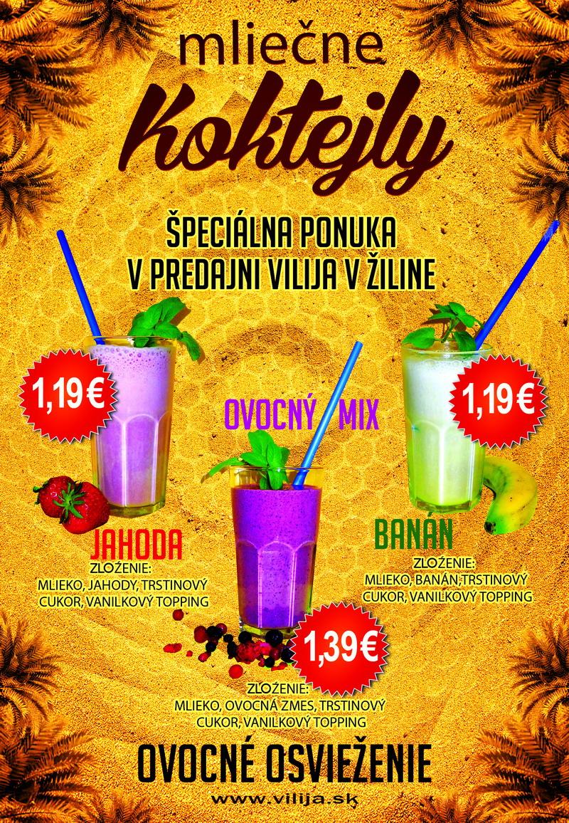 mliečny koktejl  - vilija 2016